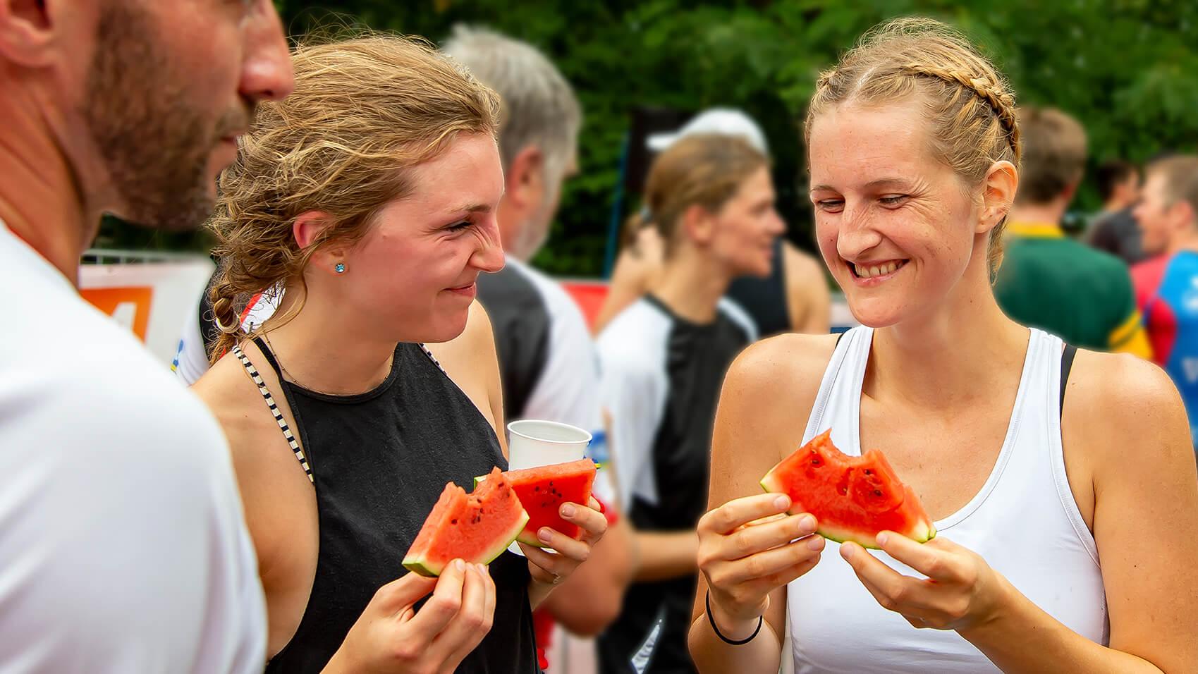 Zeitplan Triathlon Frankfurt